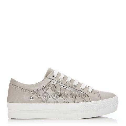 Fiarni Light Grey Leather