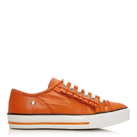 Fionie Orange Leather