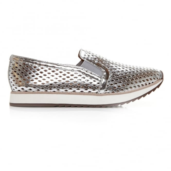 Fiorello Silver Leather