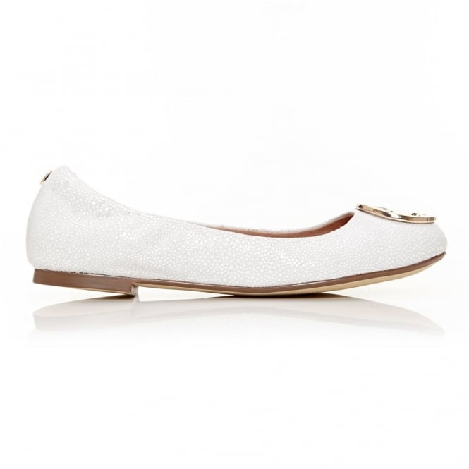 Foli White Leather