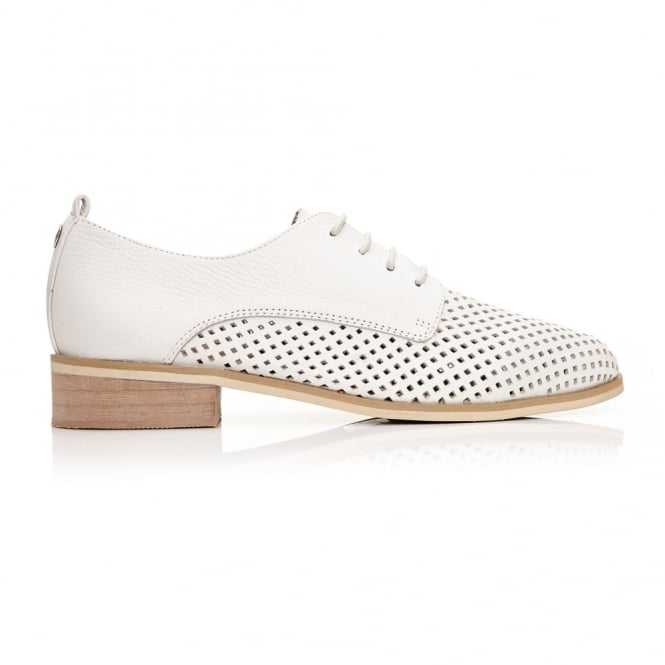 Folita White Leather