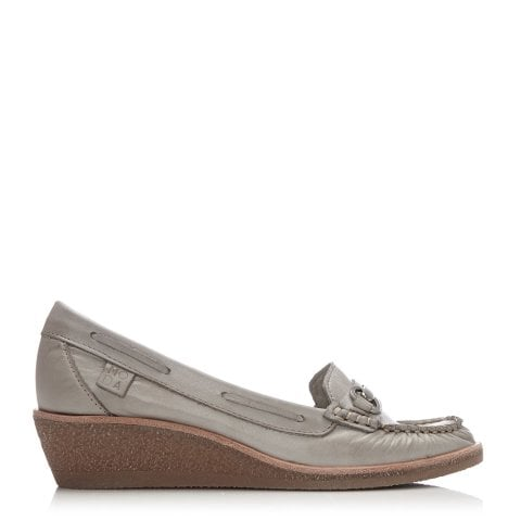 Galdo Light Grey Leather