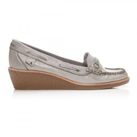 Galea Light Grey Leather