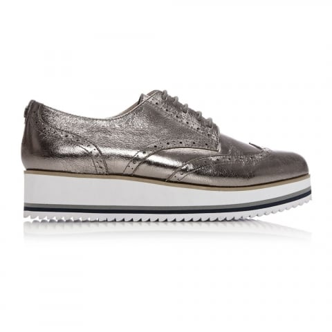Gemmah Pewter Leather