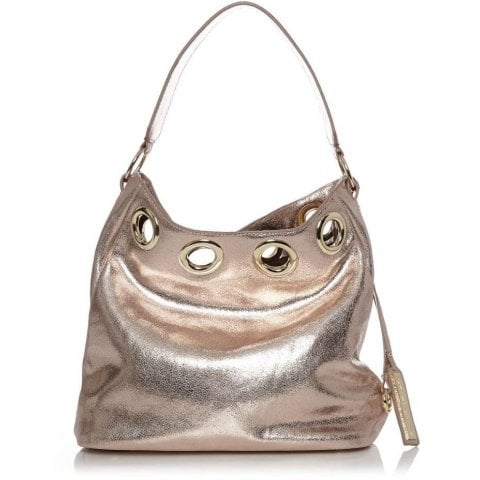 Gracibag Rose Gold Metallic Leather