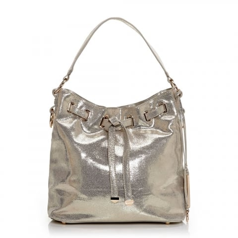 Granziabag Gold Leather