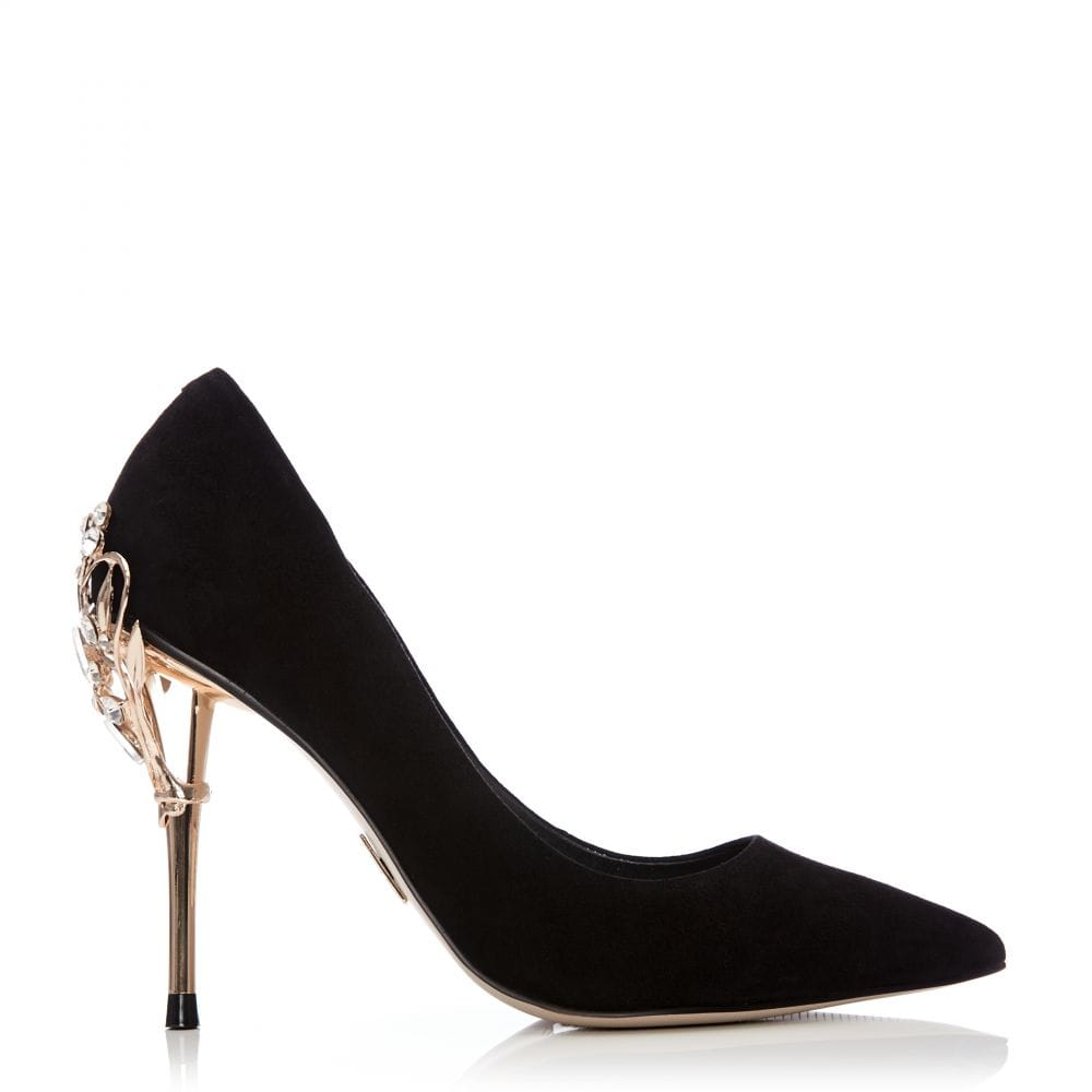 a21a63c248d Ilari Black Suede - Shoes from Moda in Pelle UK