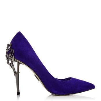 Ilari Purple Suede