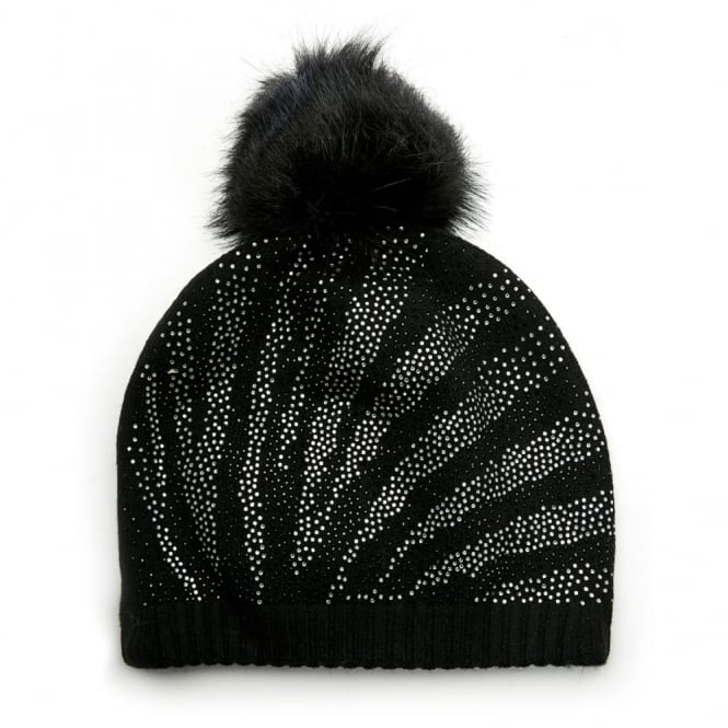Jazminehat Black Fabric