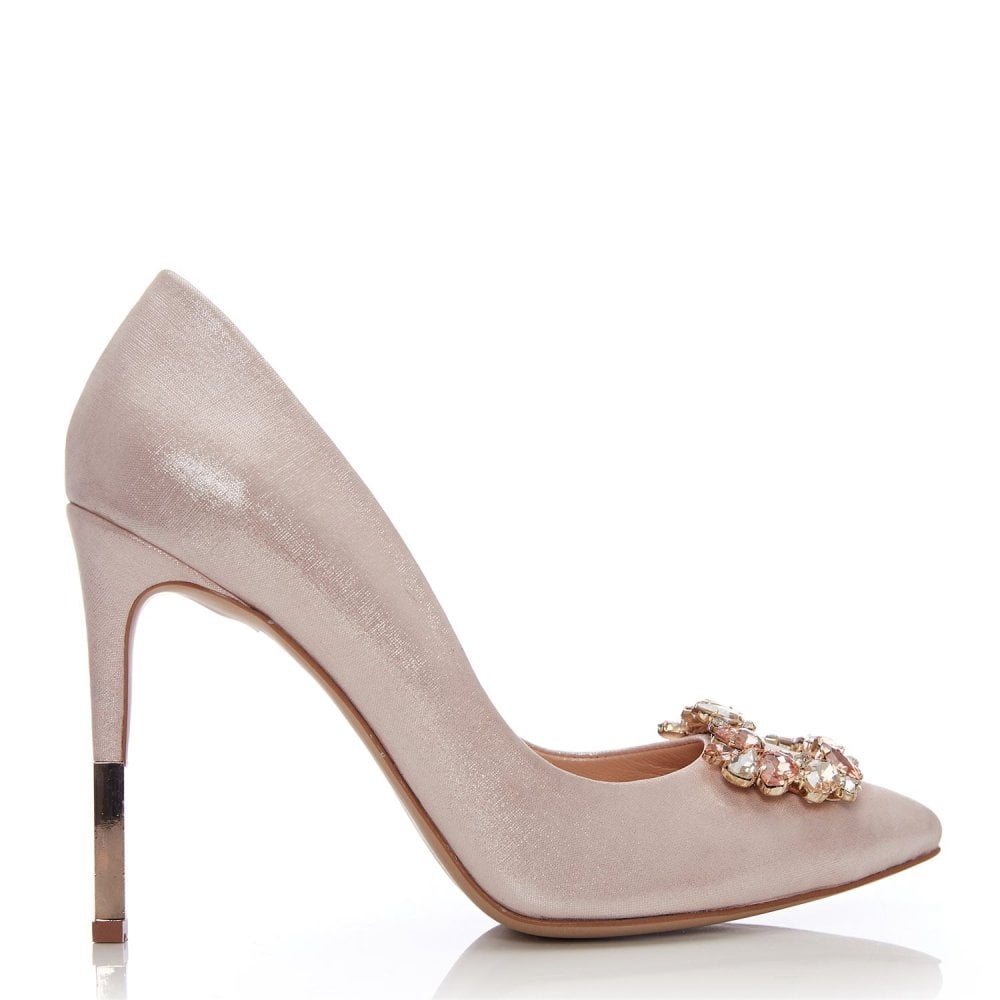 Kalara Rose Gold Leather - Shoes from