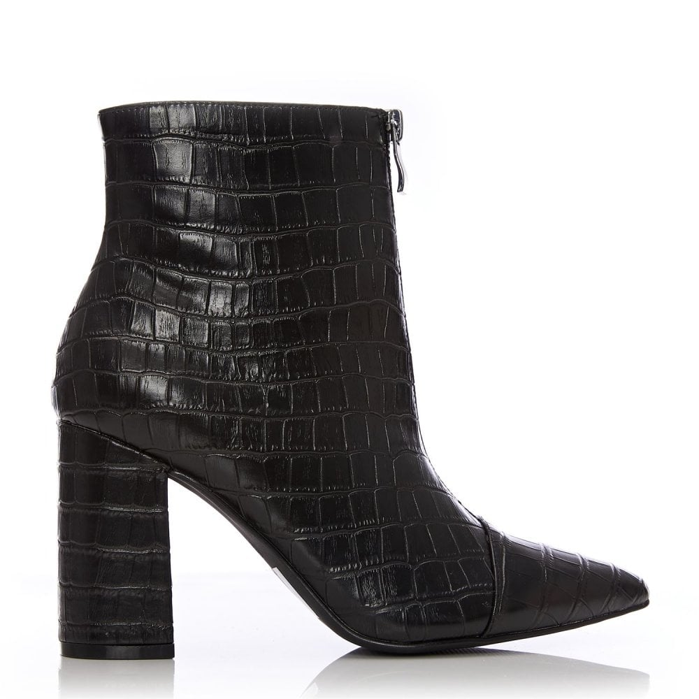 471b3eeb1e5 Keena Black Patent Mocc Croc