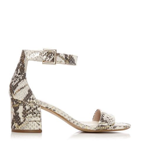 Lacei Gold Snakeskin