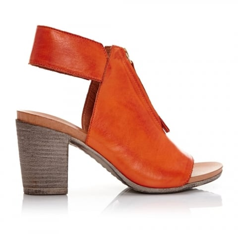 Laia Orange Leather