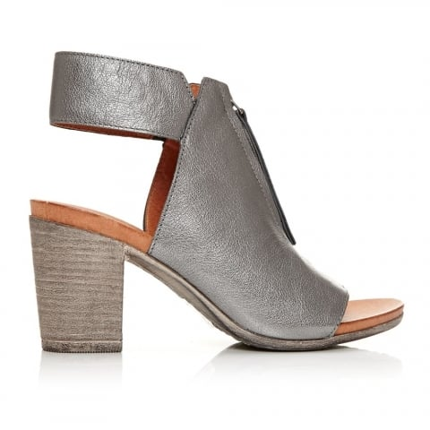 Laia Pewter Leather