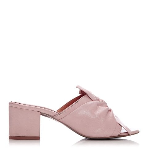 Lancey Light Pink Leather