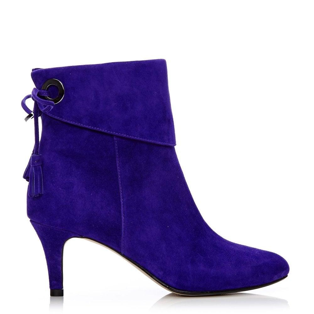 latinna purple suede boots from moda in pelle uk