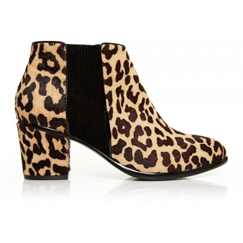 Lauria Leopard Calf Hair