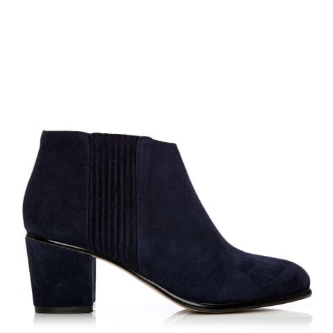 Lauria Navy Suede