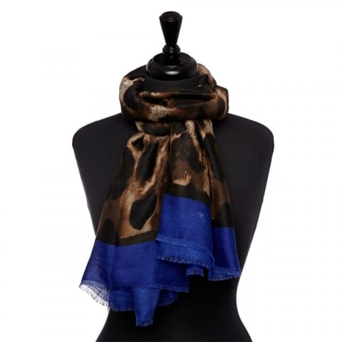 Learoscarf Cobalt Blue Fabric