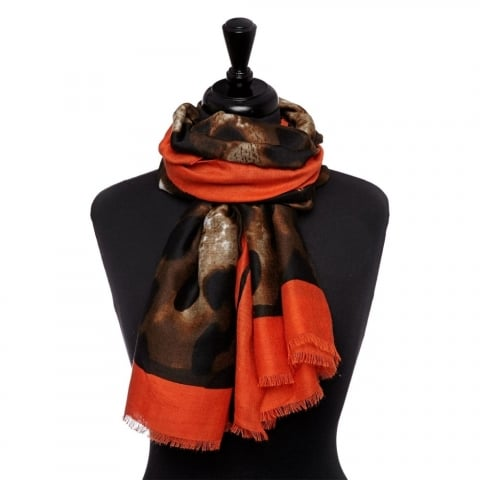 Learoscarf Orange Fabric