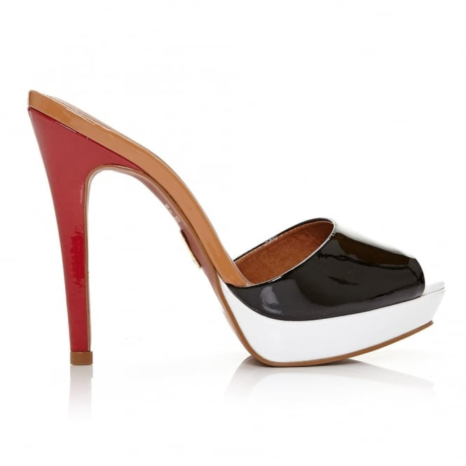 Letizia Black Patent Leather