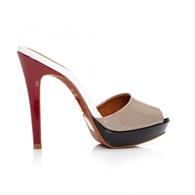 Letizia Nude Patent Leather