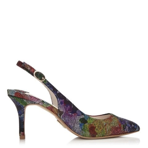 Limka Dark Floral Leather