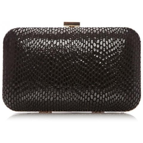 Limkaclutch Black Snakeskin