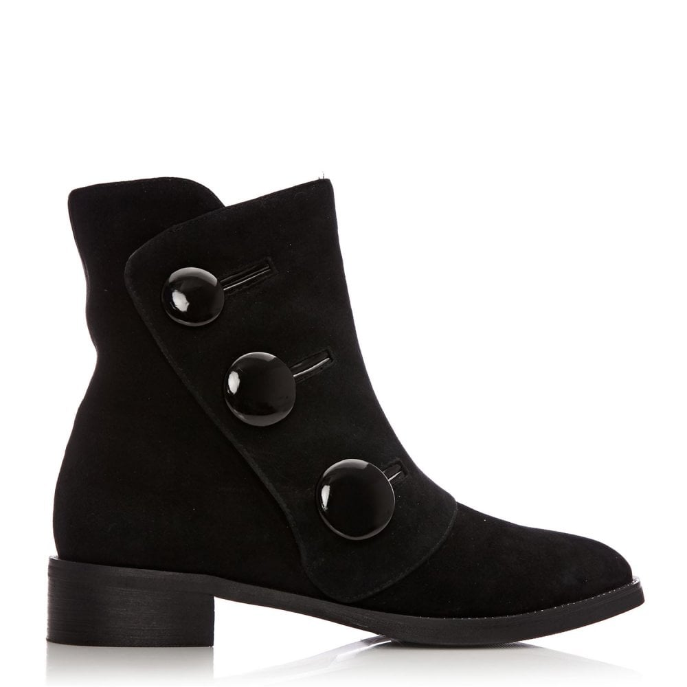 71ce1dad447 Lizette Black Suede - Boots from Moda in Pelle UK