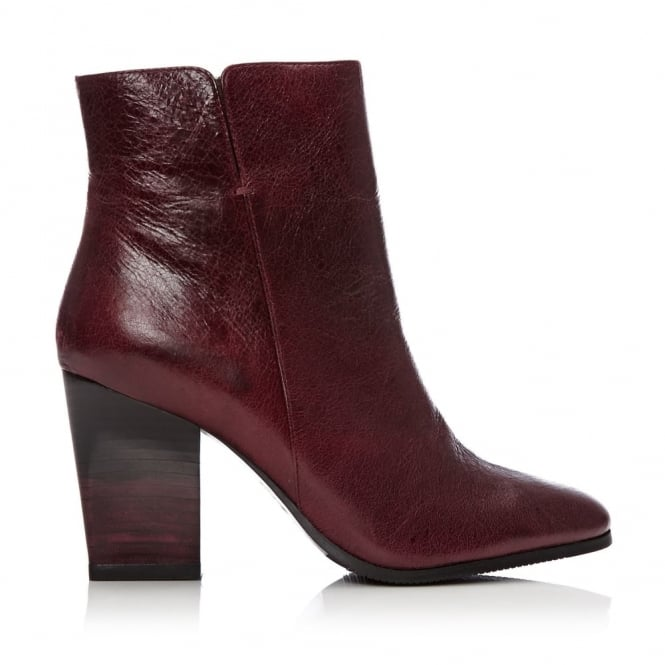Macala Burgundy Leather