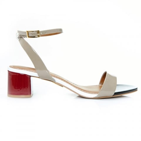 Marea Nude Patent Leather