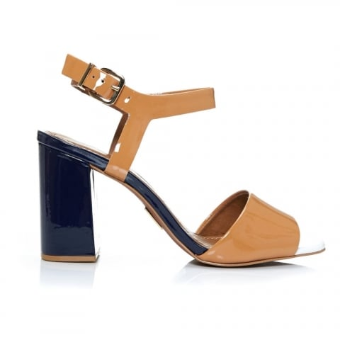 Massima Navy Patent Leather
