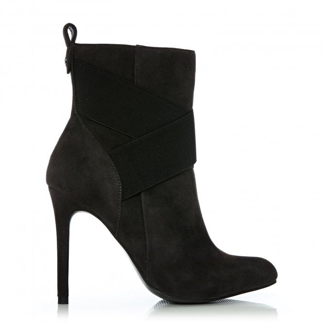 Matilde Dark Grey Suede