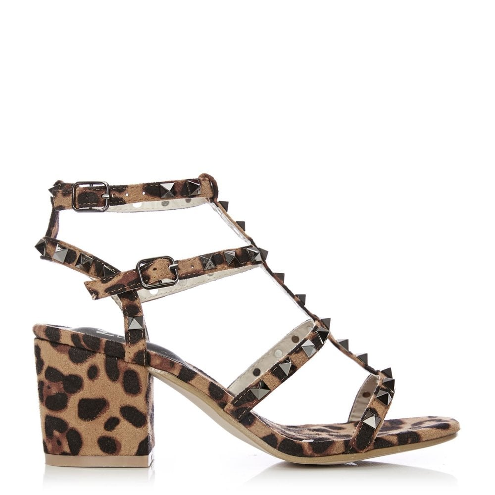 2be4f169f3834 Mima Leopard Alcantara - Shoes from Moda in Pelle UK