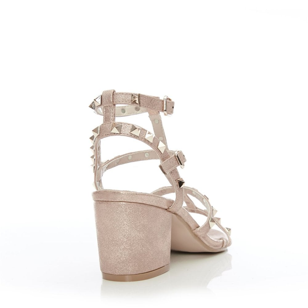 5729ad9df37cf Mima Rose Gold Porvair - Shoes from Moda in Pelle UK