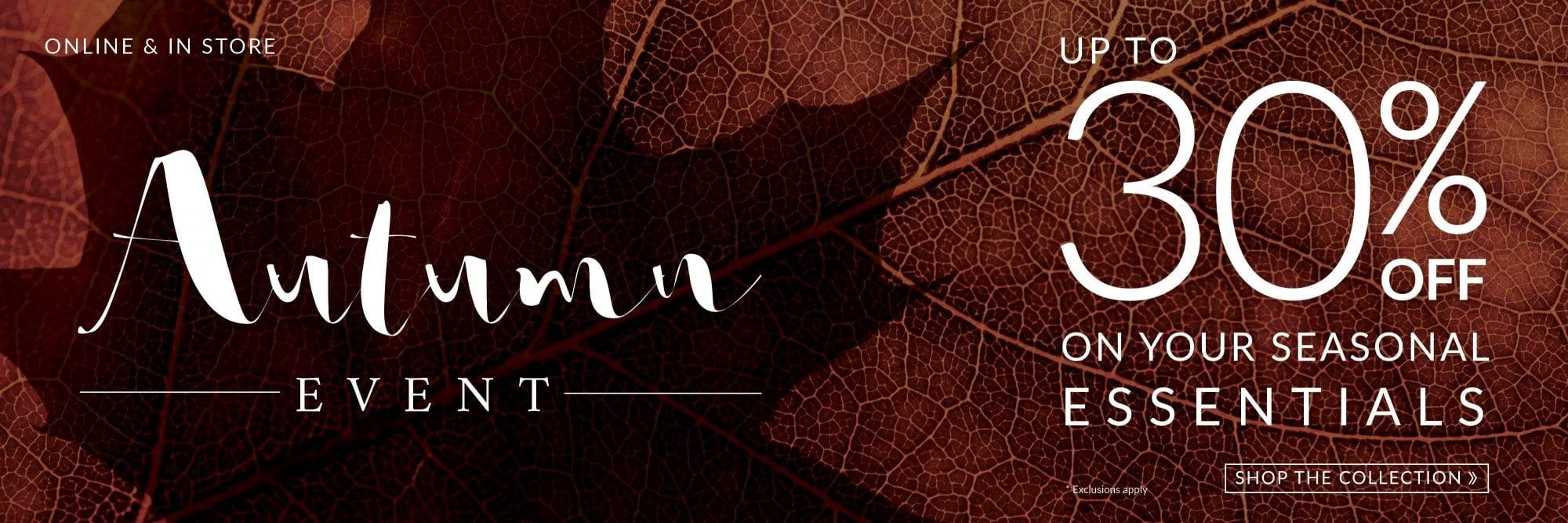 Autumn Event Promo