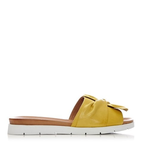 Narita Yellow Leather