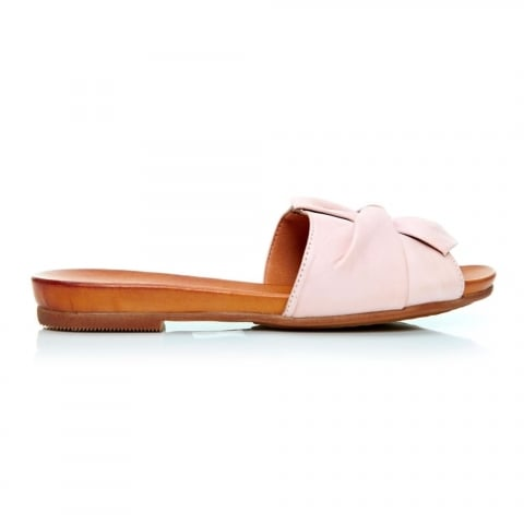 Nariz Light Pink Leather
