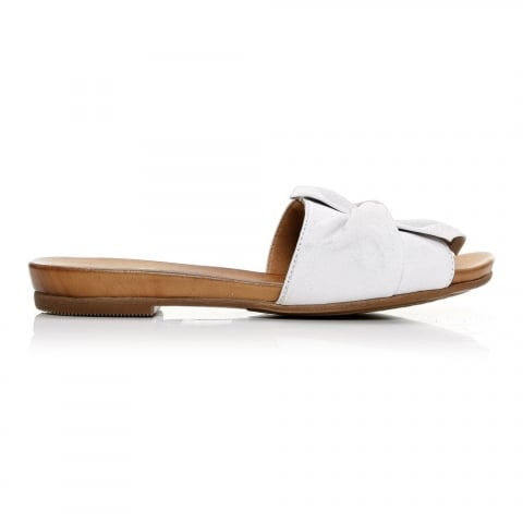 Nariz White Leather
