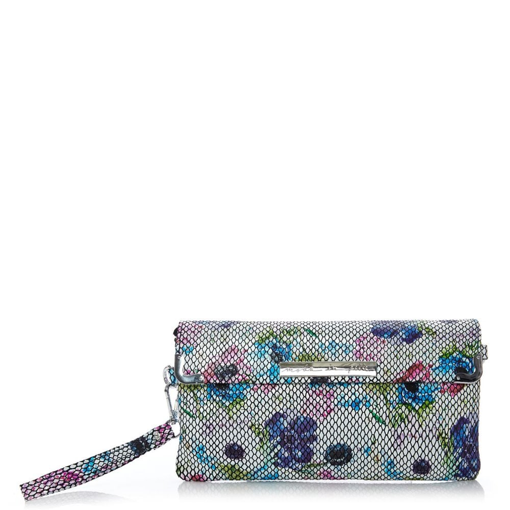 Nellaclutch Floral Snake Print Bags From Moda In Pelle Uk