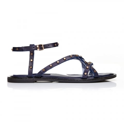 Nevie Navy Leather