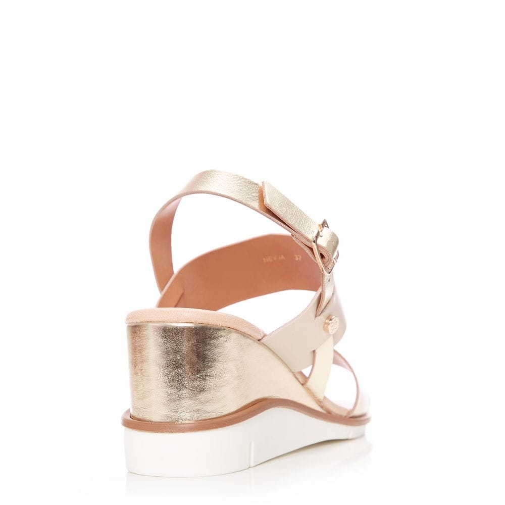 Nevva Gold Leather - Sandals from Moda