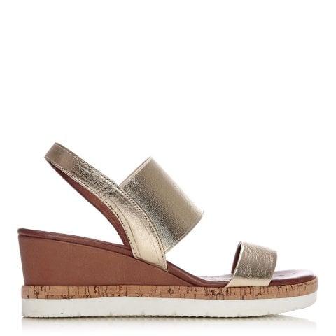 ae6326b749b Metallic Sandals
