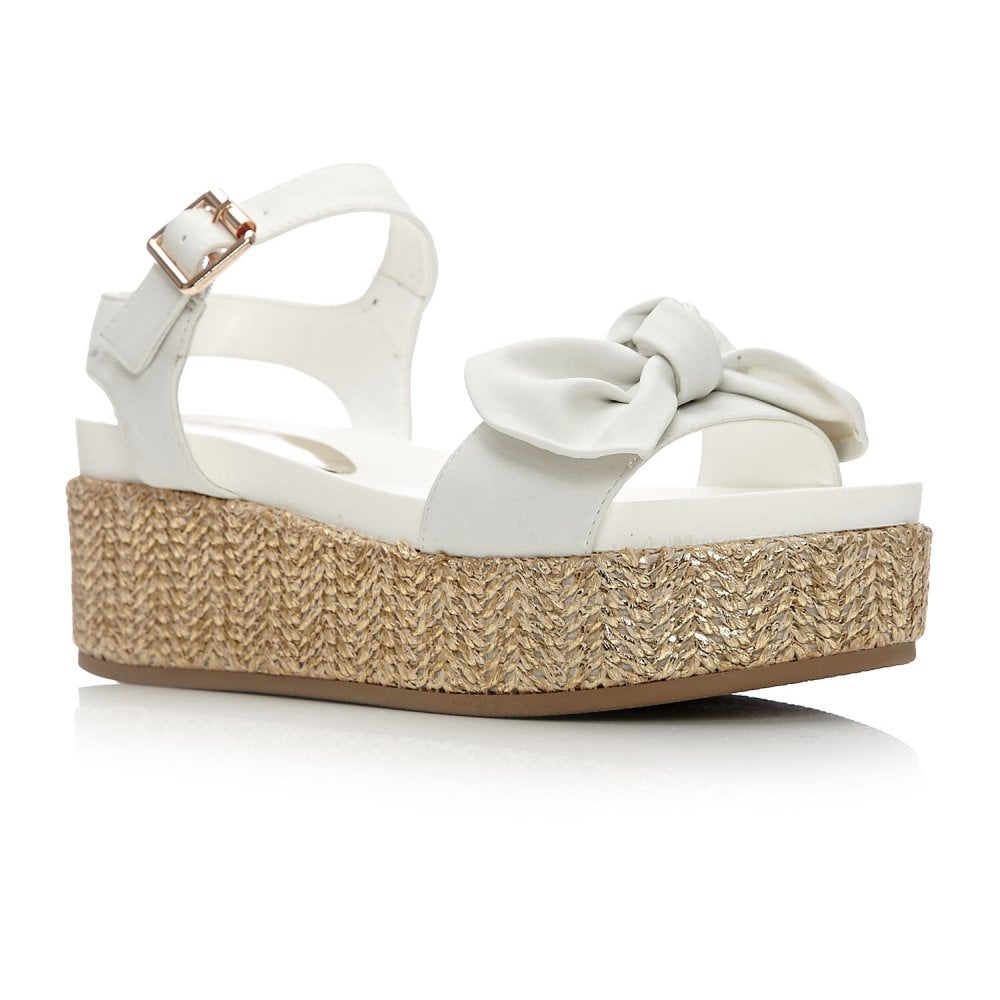 63b62d67a745 Pasha White Porvair - Sandals from Moda in Pelle UK