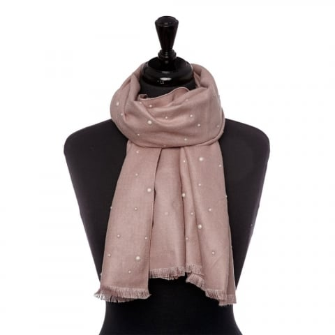 Pearliscarf Pink Fabric