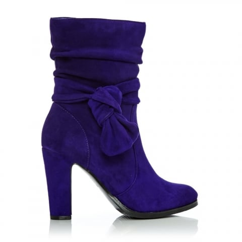 Peretta Purple Suede