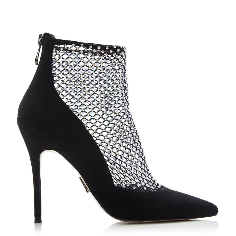Black Suede - Shoes from Moda in Pelle