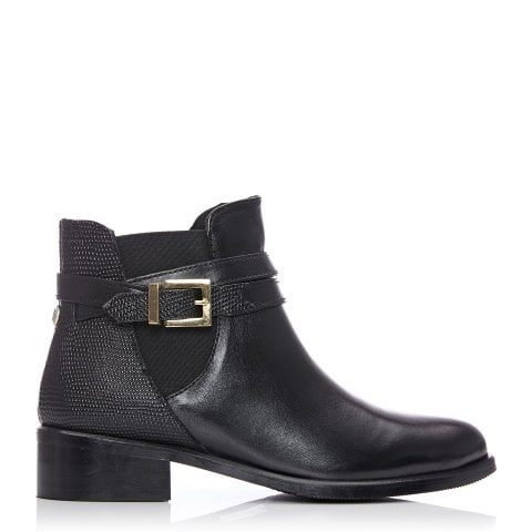 Kealy Black Leather