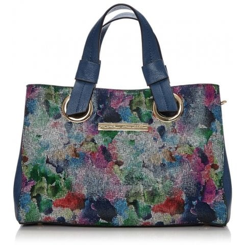 Renniebag Dark Floral Leather