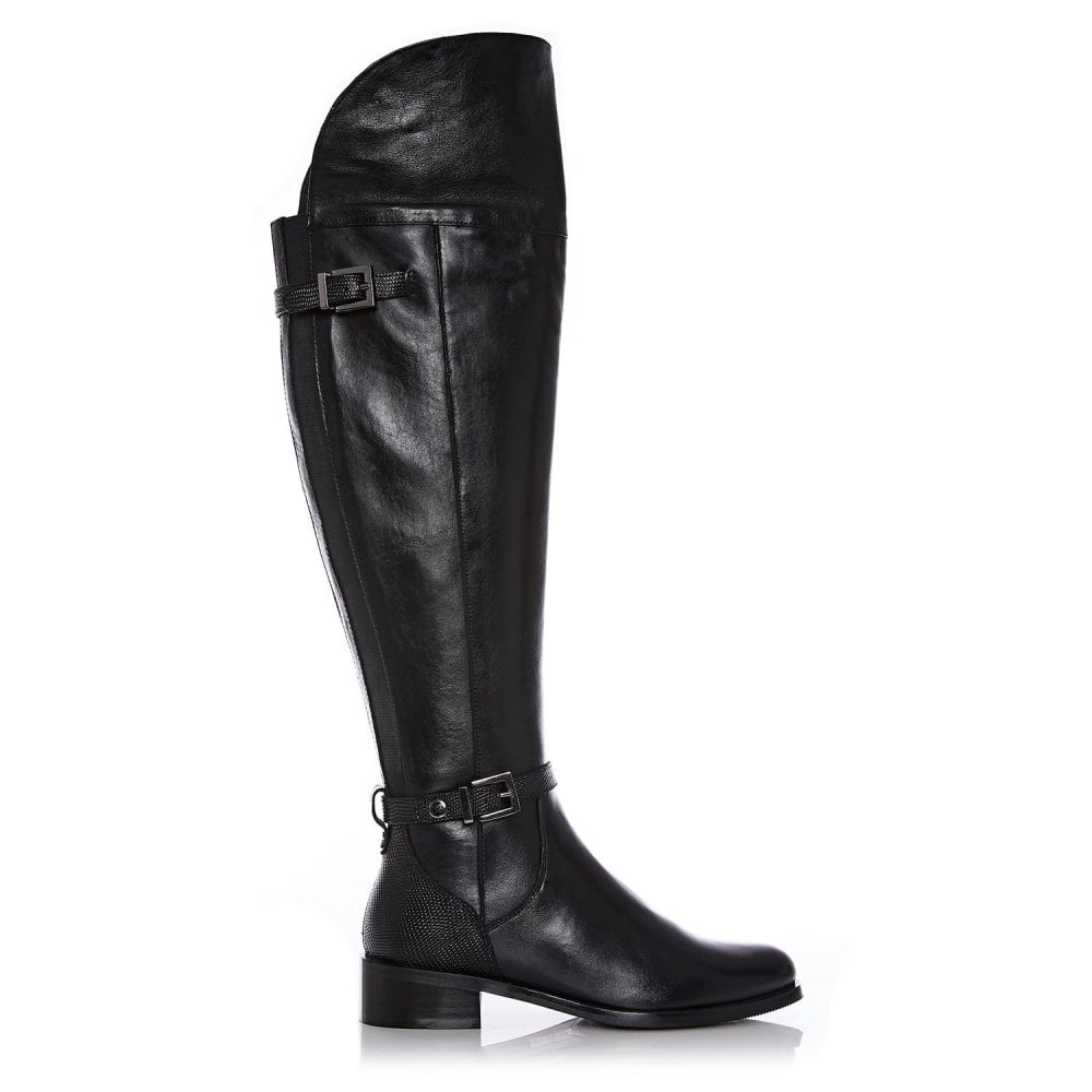 f07d5a688a9 Sabino Black Leather - Boots from Moda in Pelle UK